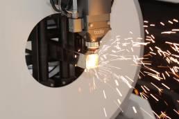 Líneas laser de corte de tubo